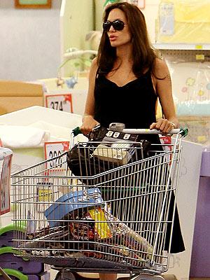 CARTING AROUND photo | Angelina Jolie