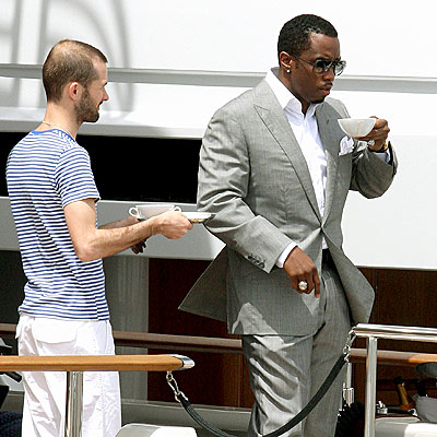 TEA TIME   photo | Sean \P. Diddy\ Combs