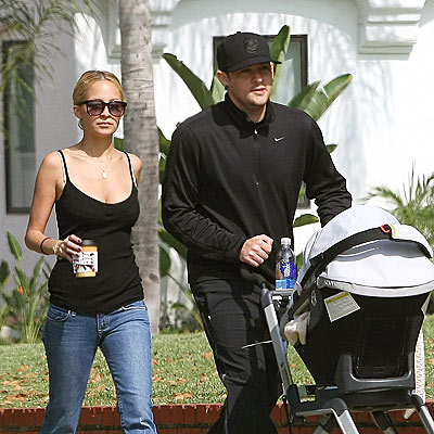 THREE'S COMPANY photo | Joel Madden, Nicole Richie