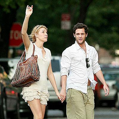penn badgley and blake lively 2011. Blake Lively, Penn Badgley