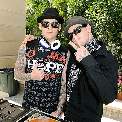 WHEELS OF STEEL photo | Benji Madden, Joel Madden