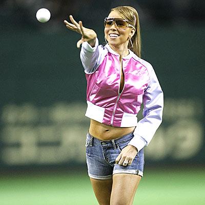 PLAY BALL! photo   Mariah Carey