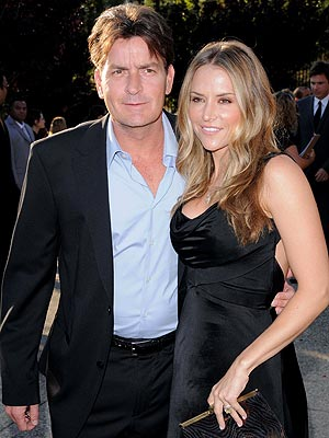 THE MARRYING KIND photo | Brooke Mueller, Charlie Sheen