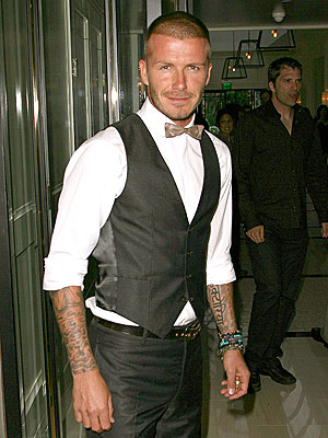 VESTED INTEREST photo | David Beckham