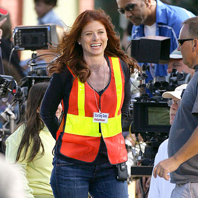 SAFETY FIRST photo | Debra Messing