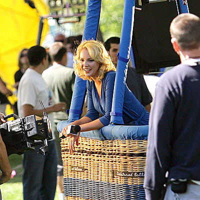 UP, UP AND AWAY! photo | Katherine Heigl