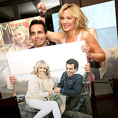 'CITY' SLICKERS photo | Kim Cattrall, Mario Cantone