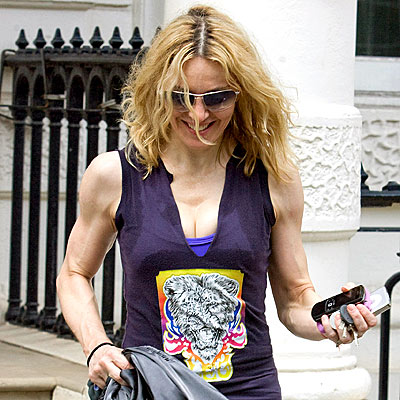 MUSCLING THROUGH photo   Madonna