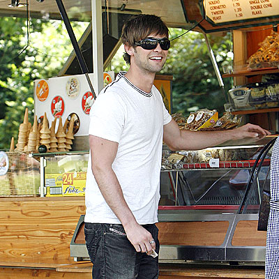 SNACK TIME photo | Chace Crawford