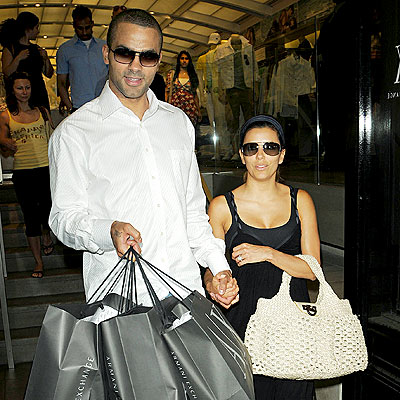 BAGGING IT photo | Eva Longoria, Tony Parker