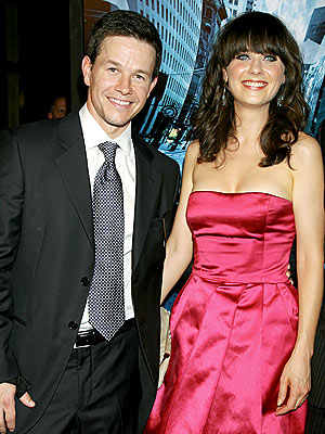 A 'PREMIERE' PAIR photo | Mark Wahlberg, Zooey Deschanel