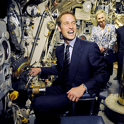 IN THE DRIVER&#39;S SEAT photo | Prince William