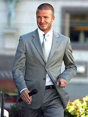 SHARP-DRESSED MAN photo | David Beckham