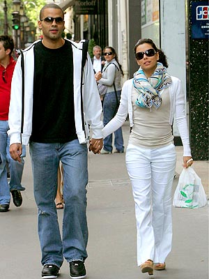 RETURN ENGAGEMENT photo | Eva Longoria-Parker, Tony Parker