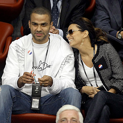 CHEERING SECTION  photo | Eva Longoria, Tony Parker
