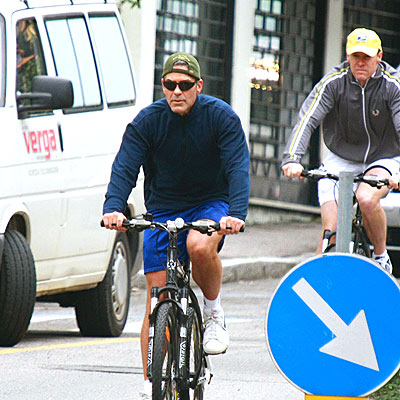 LET IT RIDE photo   George Clooney