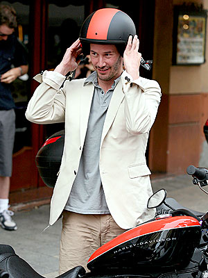 SAFETY FIRST photo | Keanu Reeves