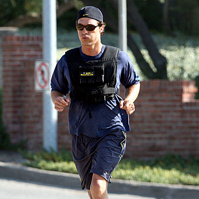 RUNNING MAN photo | Matthew McConaughey
