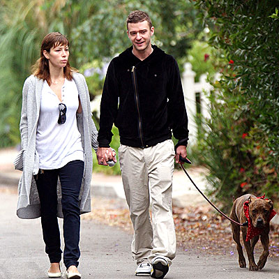 ANIMAL ACTIVISTS photo | Jessica Biel, Justin Timberlake