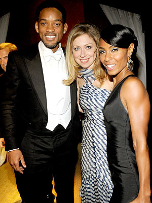 POWER TRIO photo | Chelsea Clinton, Jada Pinkett Smith, Will Smith