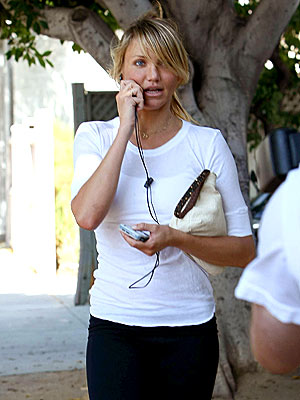 WALKING AND TALKING photo | Cameron Diaz