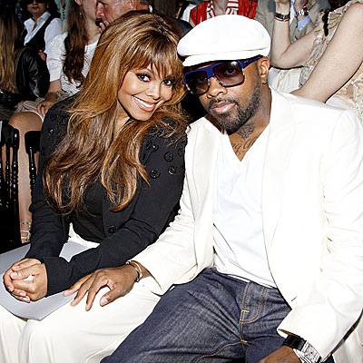 COUTURE COUPLE photo | Janet Jackson, Jermaine Dupri