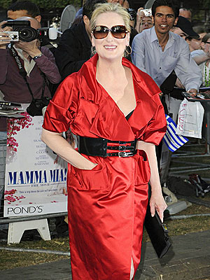 RED-HOT 'MAMMA' photo | Meryl Streep