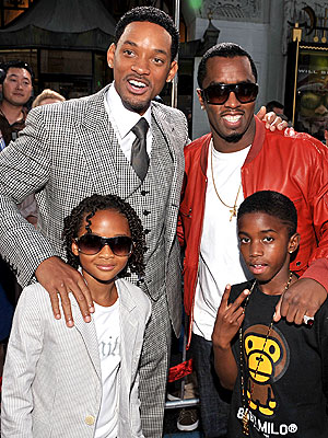 will smith and family. Diddy\\ Combs, Will Smith