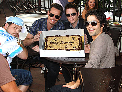 BIRTHDAY BOY photo | Adrian Grenier, Jerry Ferrara, Kevin Connolly, Kevin Dillon