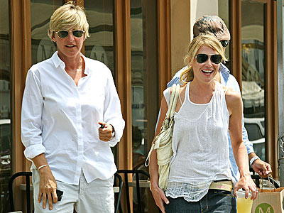 LADIES WHO LUNCH photo | Ellen DeGeneres, Portia de Rossi