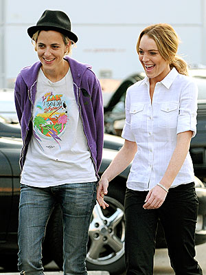 JUST SMILE  photo | Lindsay Lohan, Samantha Ronson