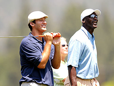 FORE SCORE photo | Michael Jordan, Tony Romo