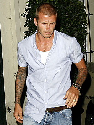 ON THE GO photo | David Beckham