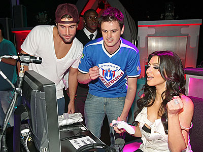 SHE'S GOT GAME photo | Brody Jenner, Kim Kardashian