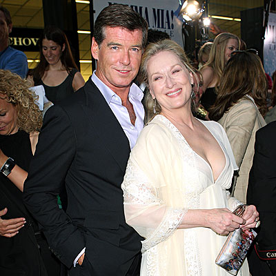 HER NO. 1 FAN photo | Meryl Streep, Pierce Brosnan