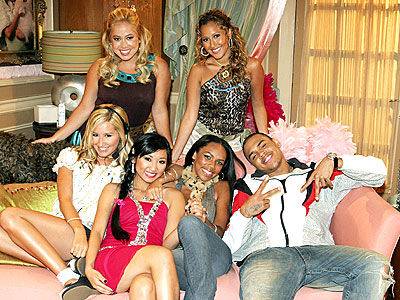 MAN IN THE MIDDLE photo | Adrienne Bailon, Ashley Tisdale, Brenda Song, Chris Brown, Kiely Williams, Sabrina Bryan