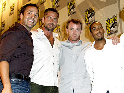 BAND OF BROTHERS photo | Gerard Butler, Guy Ritchie, Jeremy Piven, Ludacris
