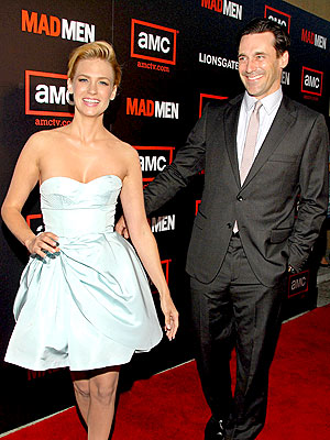 LEADING LADY photo | January Jones, Jon Hamm