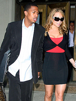 DAPPER DUO photo | Mariah Carey, Nick Cannon