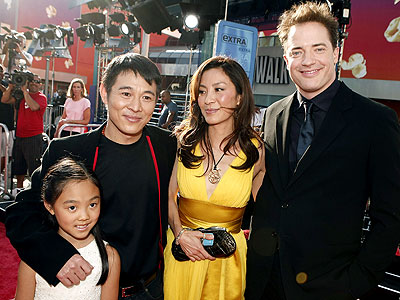 PEACEFUL WARRIORS photo | Brendan Fraser, Jet Li, Michelle Yeoh