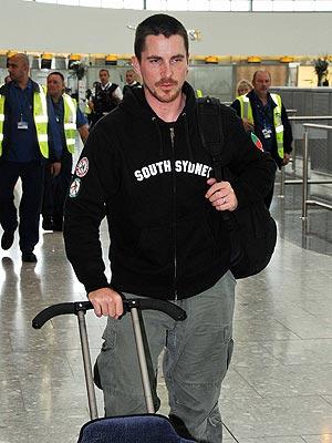 ON THE GO photo | Christian Bale
