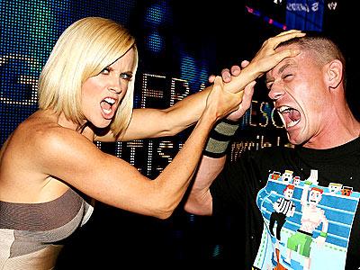 SMACKDOWN! photo | Jenny McCarthy, John Cena