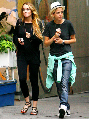 CITY SLICKERS photo | Lindsay Lohan, Samantha Ronson
