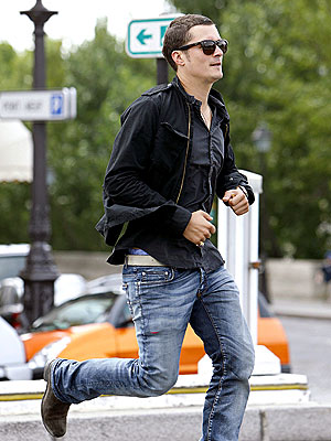 THE RUNNING MAN photo | Orlando Bloom