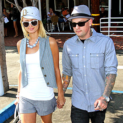 STOP & SHOP photo | Benji Madden, Paris Hilton