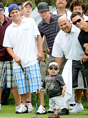 TEE TIME photo | Verne Troyer