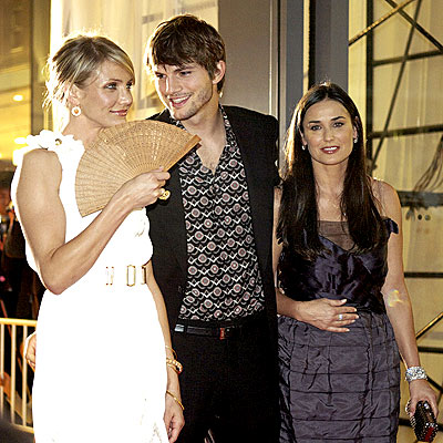 FAN FAVORITES photo | Ashton Kutcher, Cameron Diaz, Demi Moore