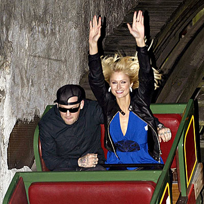 WILD RIDE photo | Benji Madden, Paris Hilton
