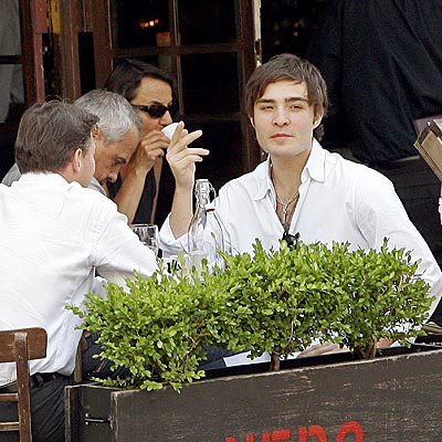 OUT TO LUNCH photo  Ed Westwick