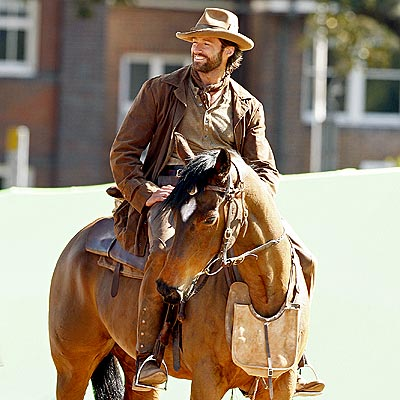 HORSING AROUND photo | Hugh Jackman